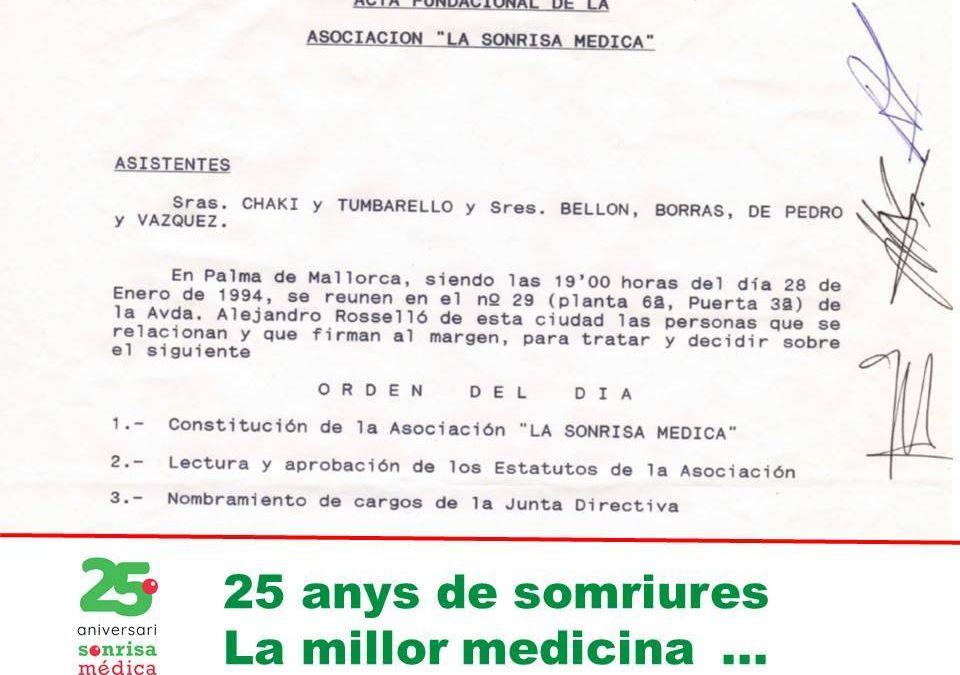 25 años de Sonrisa Médica
