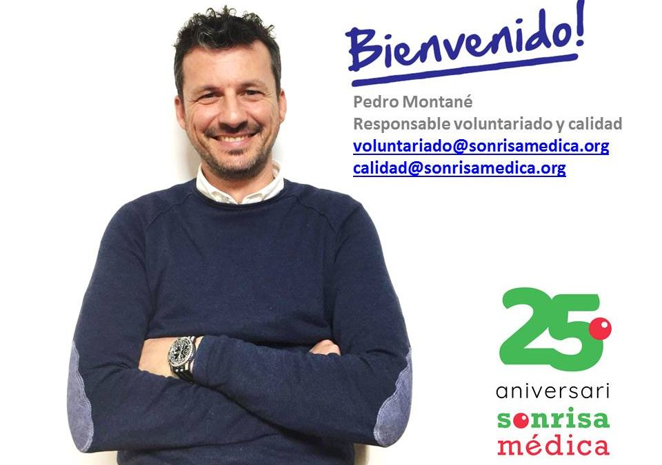 Pedro Montané, responsable de voluntariado y calidad en Sonrisa Médica