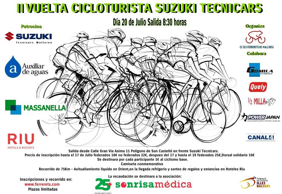 II Vuelta Cicloturista Suzuki Tecnicars