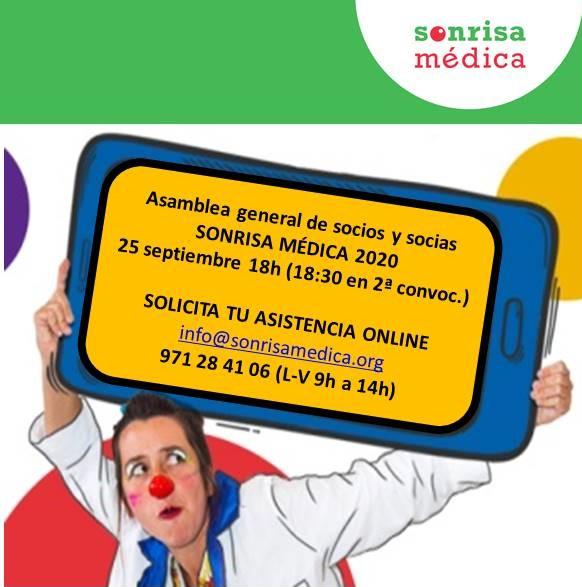 INFORMACIÓN ASAMBLEA GRAL. DE SOCIOS 25/09/2020